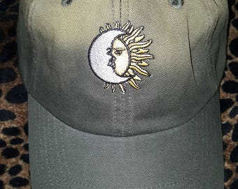 Moon and Sun Dad hat