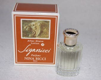 NINA RICCI Signoricci - Aftershave lotion (aftershave) vintage