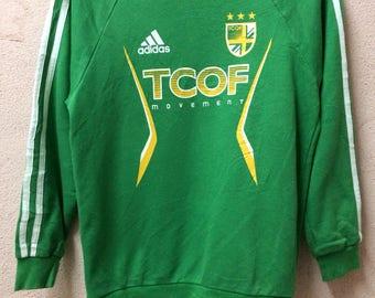 Rare!!! Adidas TCOF Pullover Crewneck