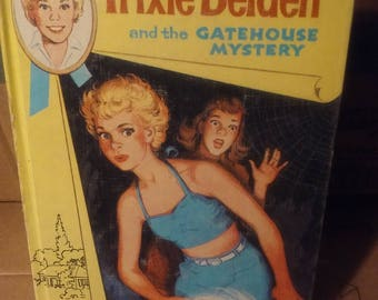 Trixie Belden and the gatehouse mystery vintage childrens book