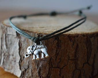 Homemade bracelet with Elephant