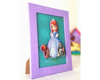 Sofia the first frame.