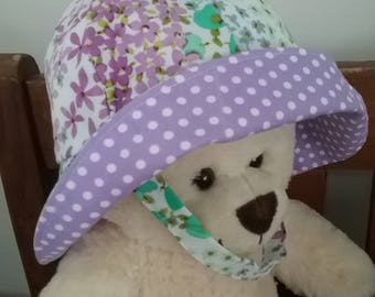Gorgeous hat for baby girl, Sun hat, beach hat,