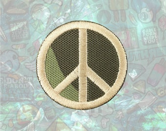 Peace US Military Patch Iron on Patch Sew On Patches back patch