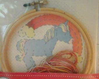 Kids Craft DMC for children 6 years old embroidery kit