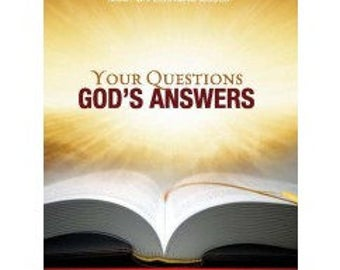 Your Questions GOD'S ANSWERS