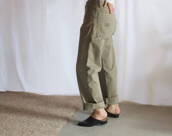 wrangler / wide leg pants / carpenter pants / painter pants / us 32 / m / l / xl