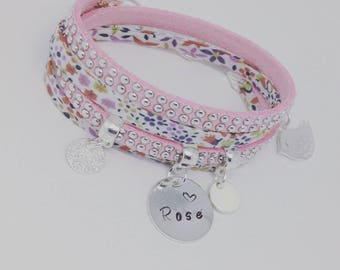 """KID'S COLLECTION. My personalized bracelet Liberty with etching by Palilo jewelry """"Little Girl"""""""