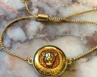 Designer Button Slider Bracelet