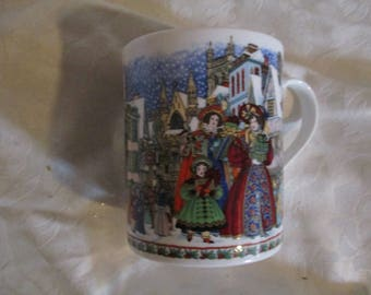 Vintage Royal Worcester Christmas Mug
