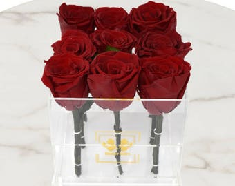 ETERNAL ROSE  ACRYLIC Box