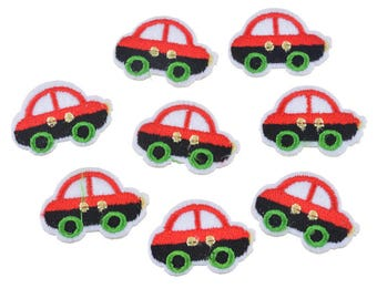 PATCH BADGE car red, black, green