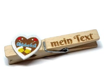 Oktoberfest heart Glubbal (Glupperl) + text