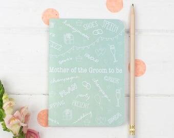 Mother of the Groom Notebook – Wedding Planning Notebook – Mother of the Groom Gift – Wedding Planner – Mother Of Groom Gift