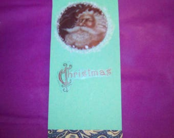 Bookmark inspired by Christmas