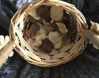 Handmade Flower Girl Basket or Gift Basket