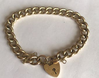Heavy Solid Gold Bracelet in 9ct gold