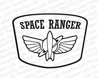 Disney's Toy Story Space Ranger digital cut file for Silhouette or Cricut, SVG, DXF, EPS