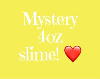 Mystery slime grab bag all scented   4oz slime  fun for all  slime! 