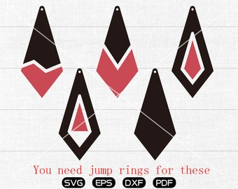 Diamond SVG, Diamond Teardrop svg, Diamond clipart, leather jewelry making Clipart, cricut, silhouette cut files commercial use