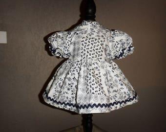 Garment 40 to 45 cm soft body doll dress handmade