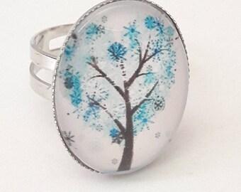 """RING """"HEART TREE"""""""