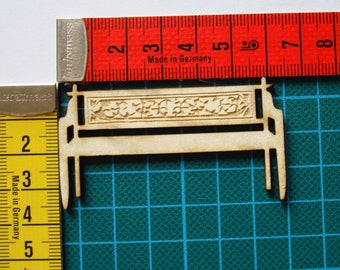 bench 1601 embellishment wooden creations