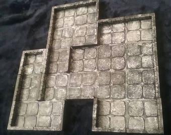 3D RPG Gaming Tiles