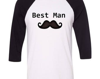 Best Man Shirt, Bridal Party Shirt, Custom Bridal Party Shirt, Wedding Favor, Wedding Gift, Groomsmen Gift, Groomsmen shirt