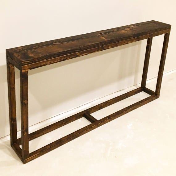 Long Narrow Foyer Table : Long console table narrow entryway