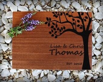 Custom Cutting Board, Personalized Cutting Board, Engraved Cutting Board, Wedding Gift, Anniversary Gift, Housewarming Gift, Valentines Gift