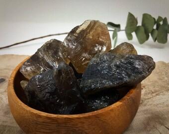 1 piece raw smokey quartz