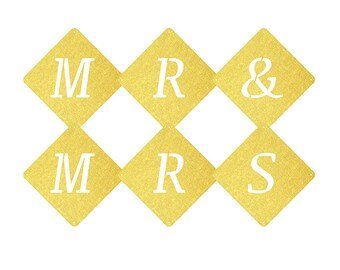 Buchstaben Girlande - Liebe, Hochzeit, Junggesellinnenabschied, JGA