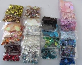 Glitter sequins sold by 2 5g bags