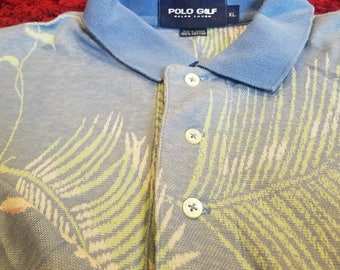 Tropical Polo Golf T by Ralph Lauren size XL
