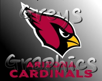 Arizona Cardinals Primary Logo with Logotype Full Color - SVG - DXF - EPS - Vectors