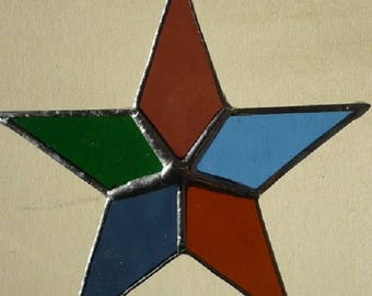 tiffany glass, Star