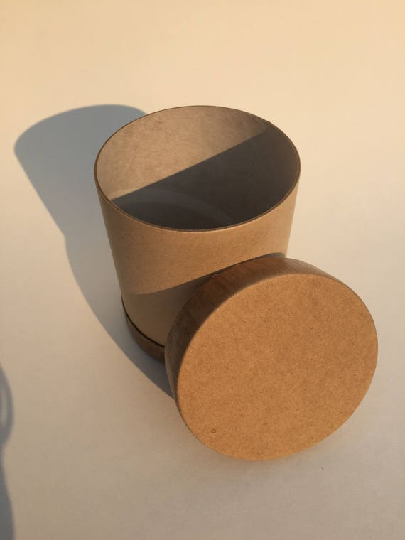 Craft paper tube containers for diy baby shower gifts for Paper containers diy