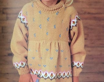 PDF Knit Children Dress I