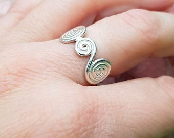 Ring with Spirals