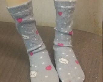 Love letter socks or stockings