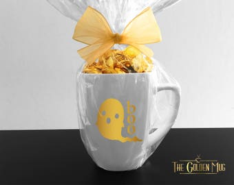 Cute Ghost Mug For Paranormal Thrill Seekers - Boo Ghost Mug Halloween Gift - Cute Halloween Mug - Cute Paranormal Mug Ghost Are Real Mug