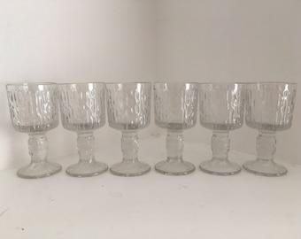 1970s Ravenhead 'Siesta' glasses.