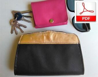 Clutch Bag Pattern – PDF Sewing Pattern to Make This Women Minimalist Bag