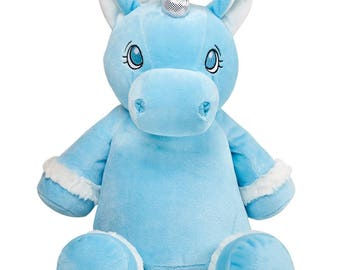 Unicorn-blue-Your personalized unicorn