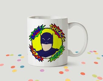 Adam West Batman Ceramic Mug