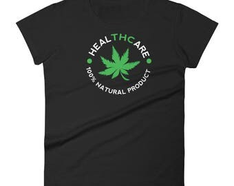 THC- healTHCare THC 420 Women's short sleeve t-shirt