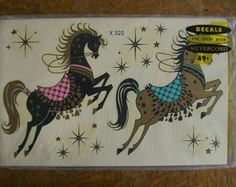 Meyercord x322 Carousel Horses