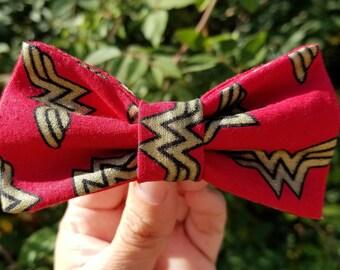 Wonder Woman hair clip