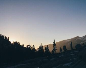 Pearl Lake, Sequoia National Park, California Travel Photograph, Landscape Print